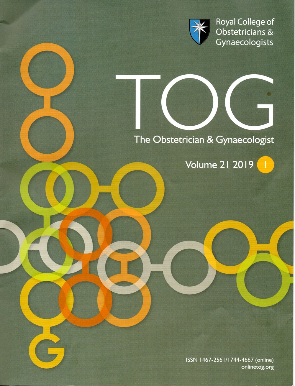 TOG = The Obstetrician & Ginaecologist