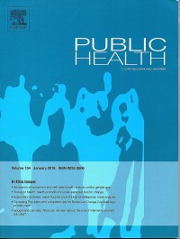 Image of Public Health : in continuous publication since 1888
